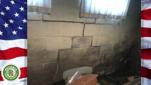 Bowing Basement Wall Repair